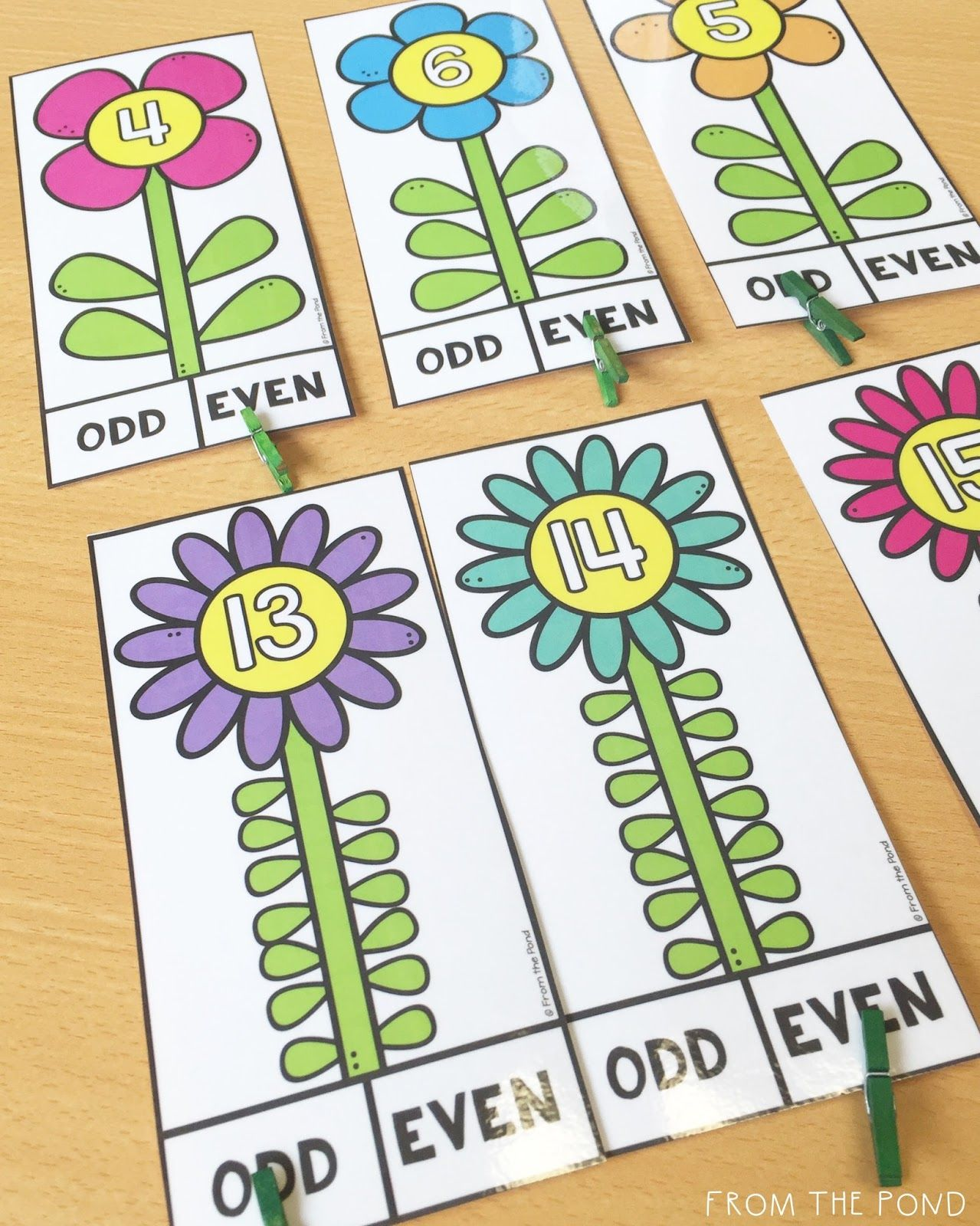 Odd And Even Activity Cards