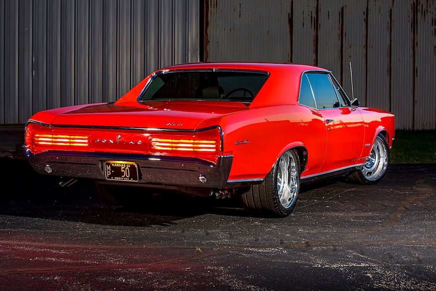 Refined & Powerful: A 1966 Pontiac GTO For The Highway!