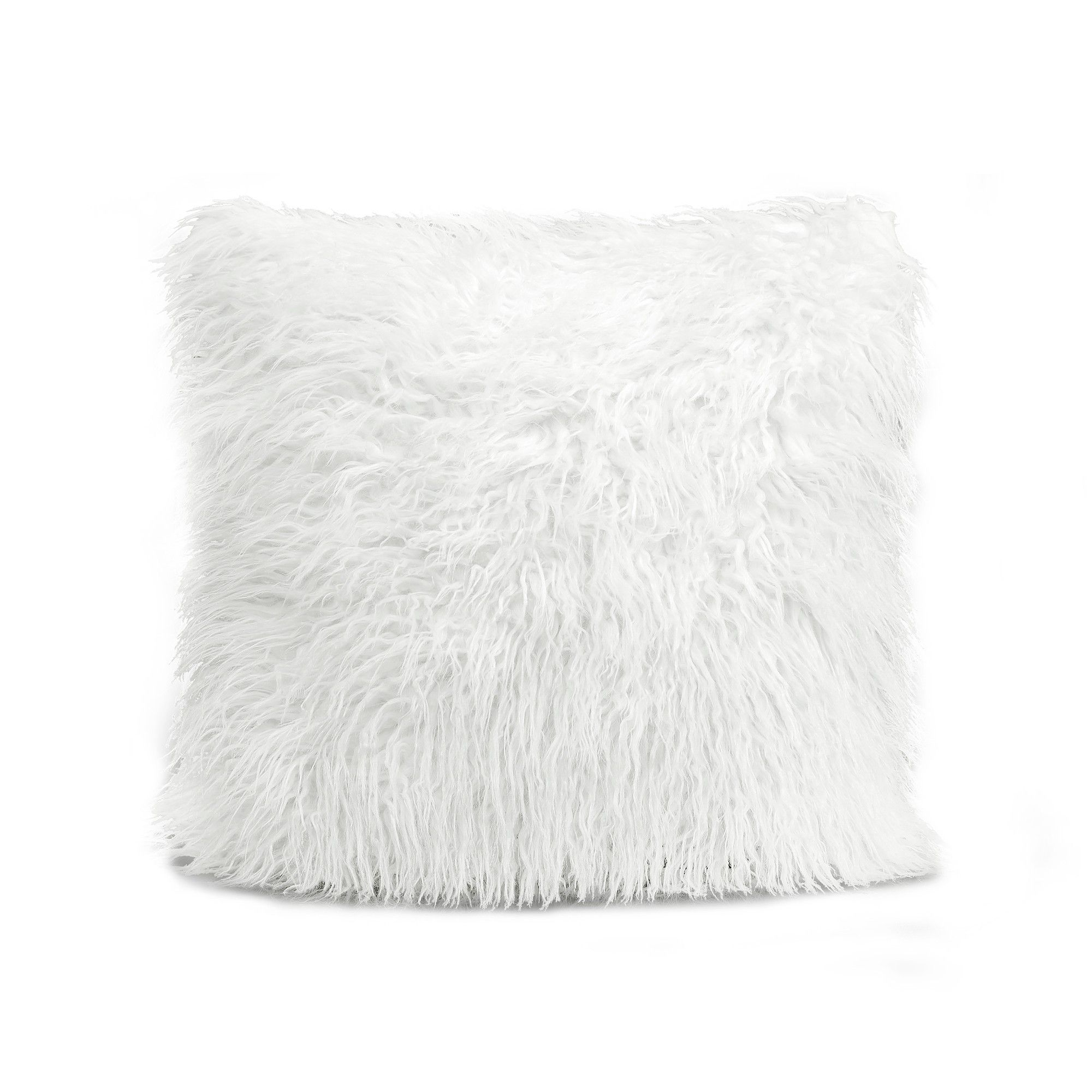 Luca Throw Pillow White Lush Decor Products
