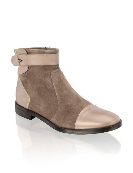 cheap for discount d6ac6 00c9c Walter Bauer Lederkombi-Boot | beige | Schuhe | 1623611336 ...