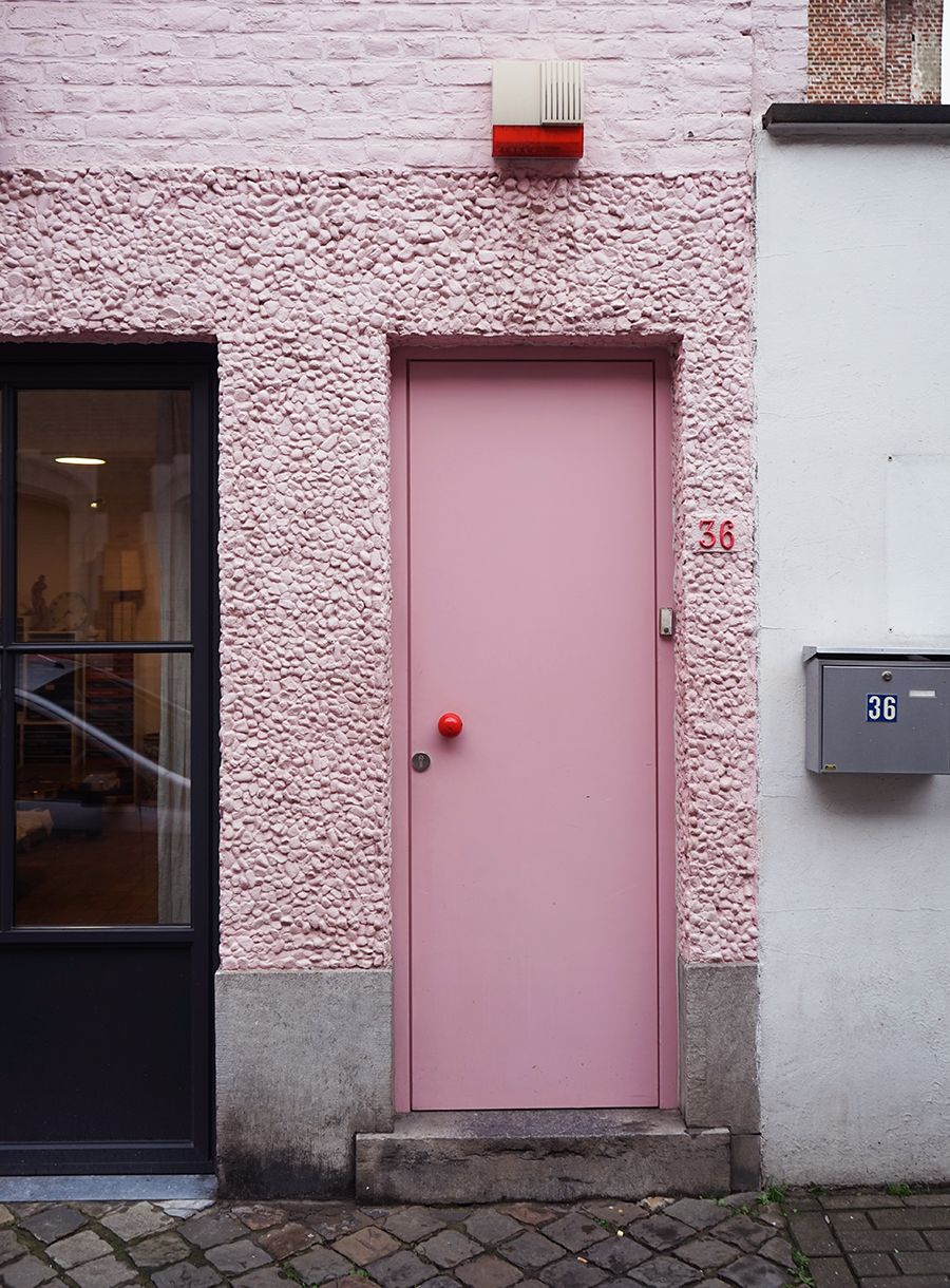 Ado Chale, Door to his own studio, Brussels, 1970s | COLOURS ...