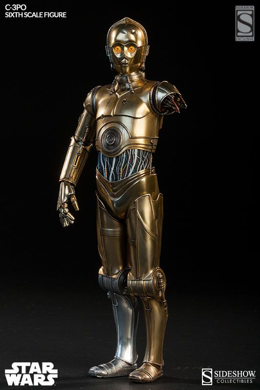 """12/"""" C-3PO from Sideshow Collectibles"""