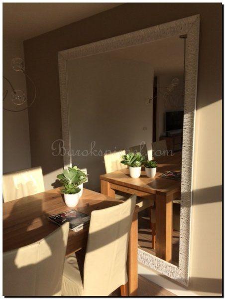 grote-spiegel-op-maat-in-woonkamer-3 | Grote spiegels | Pinterest