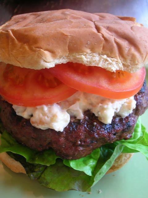 Rindy Mae: Blue Cheese-Bacon Burgers