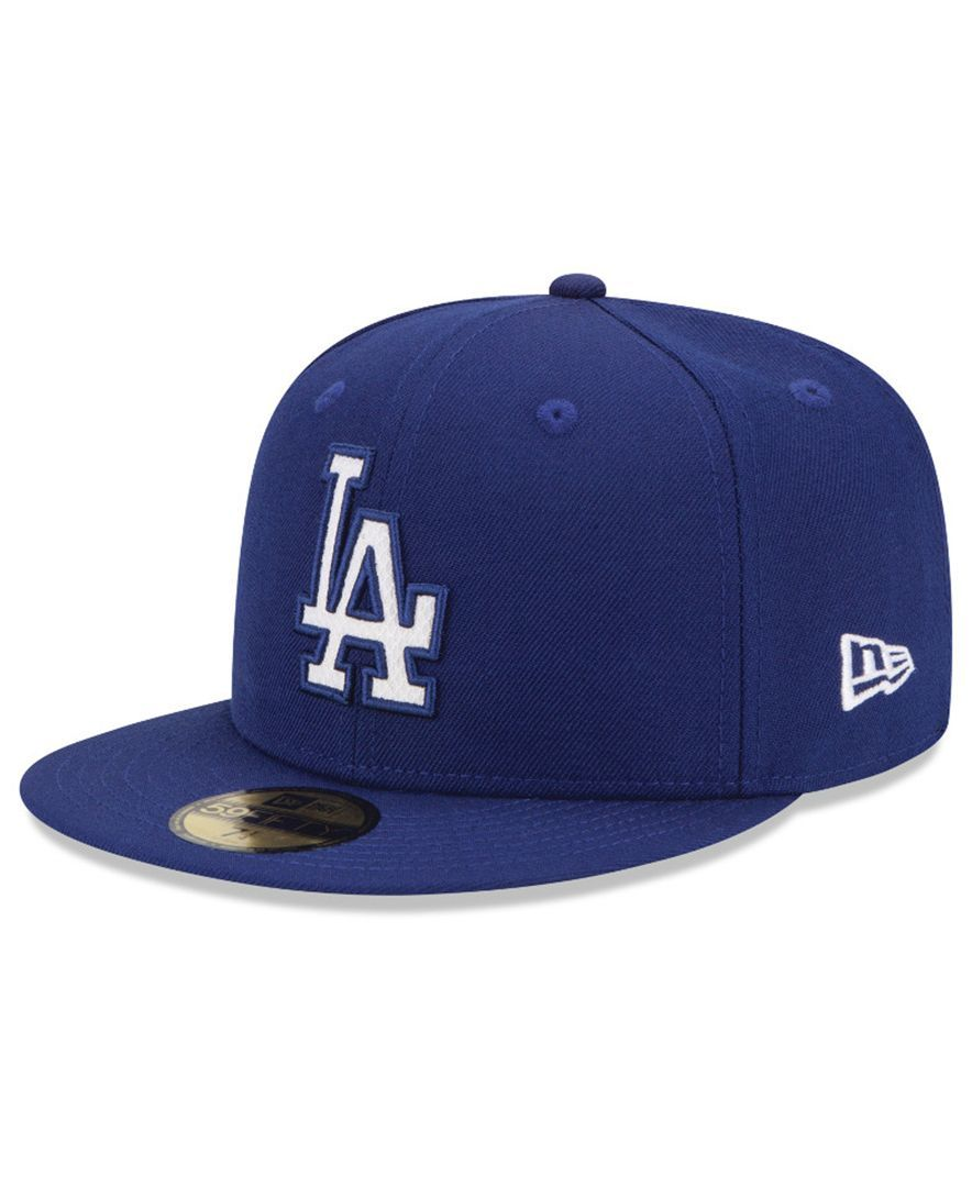 2a43fdb752f New Era Los Angeles Dodgers Logo Lush 59FIFTY Cap
