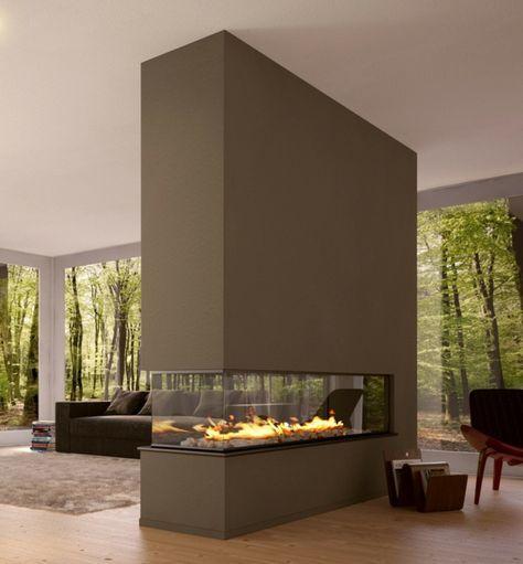 modernes-wohnzimmer-mit-luxus-trennwand-kamin- sehr schick - 42 - wohnzimmer ideen kamin
