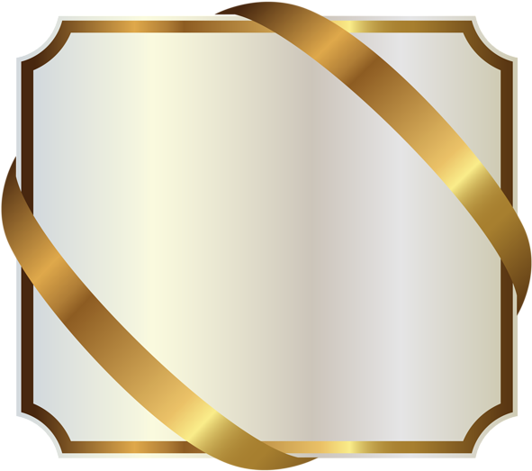 Download And Share Clipart About 0 Gold And White Label Find More High Quality Free Transparent Png Clipart Images On Ribbon Png Gold Clipart Gold Ribbons