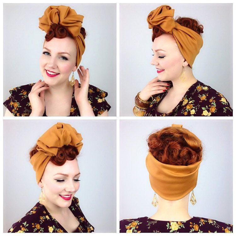 Turbanista Sarah S Doo Wop Dos Hair Hair Styles Hair Vintage