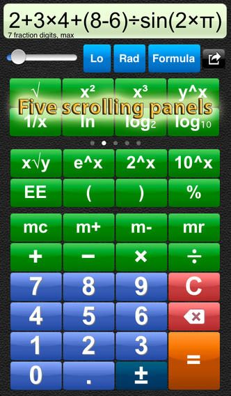 Talking Scientific Calculator on the App Store on iTunes