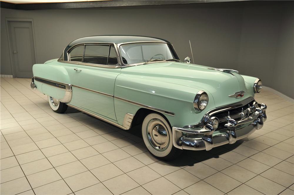 1953 Chevrolet Bel Air 2 Door Hardtop Barrett Jackson Auction Company Chevrolet Bel Air Bel Air Vintage Cars
