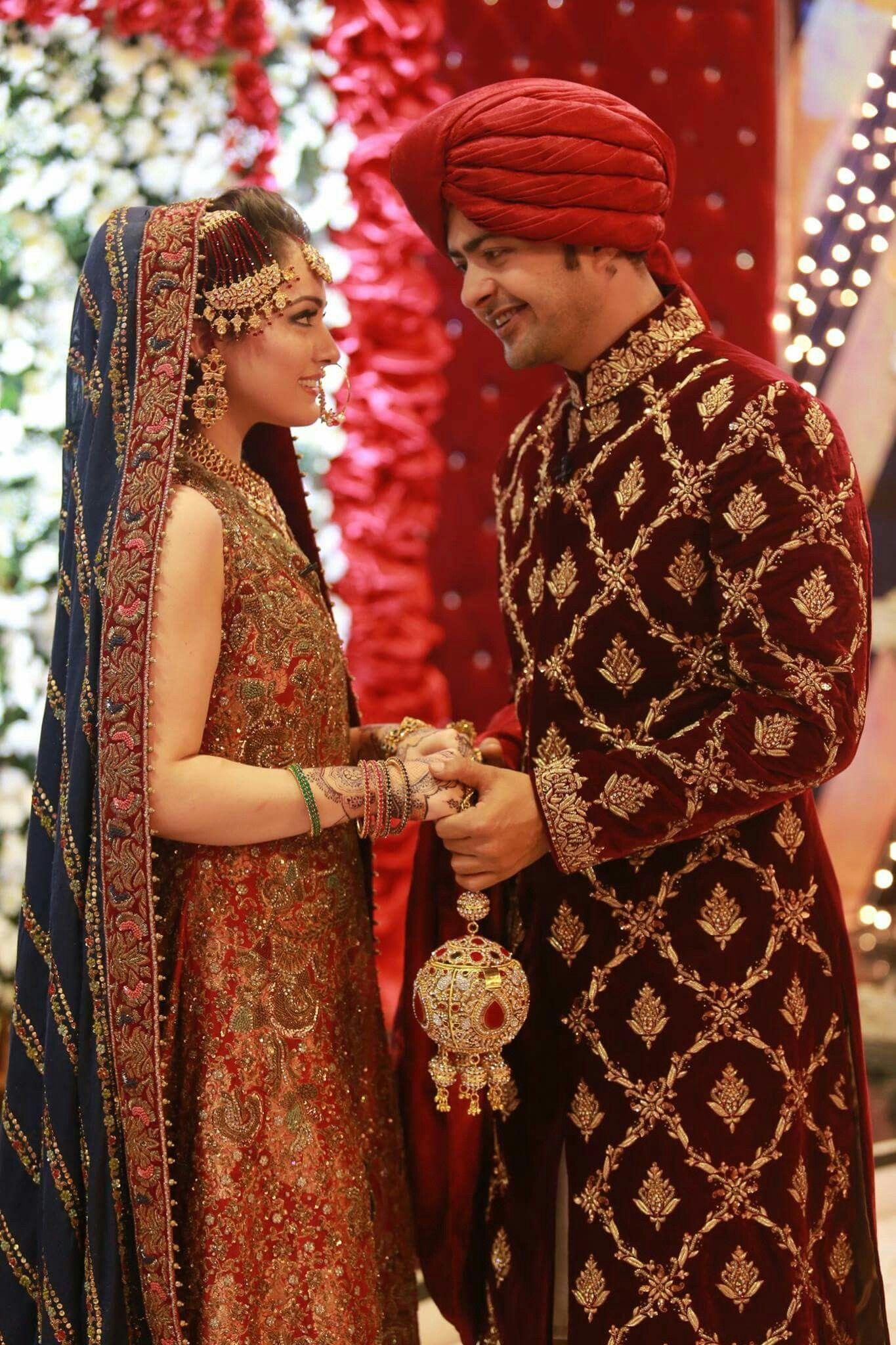 Hassanツ😍😘 Pakistani wedding dresses, Bollywood wedding