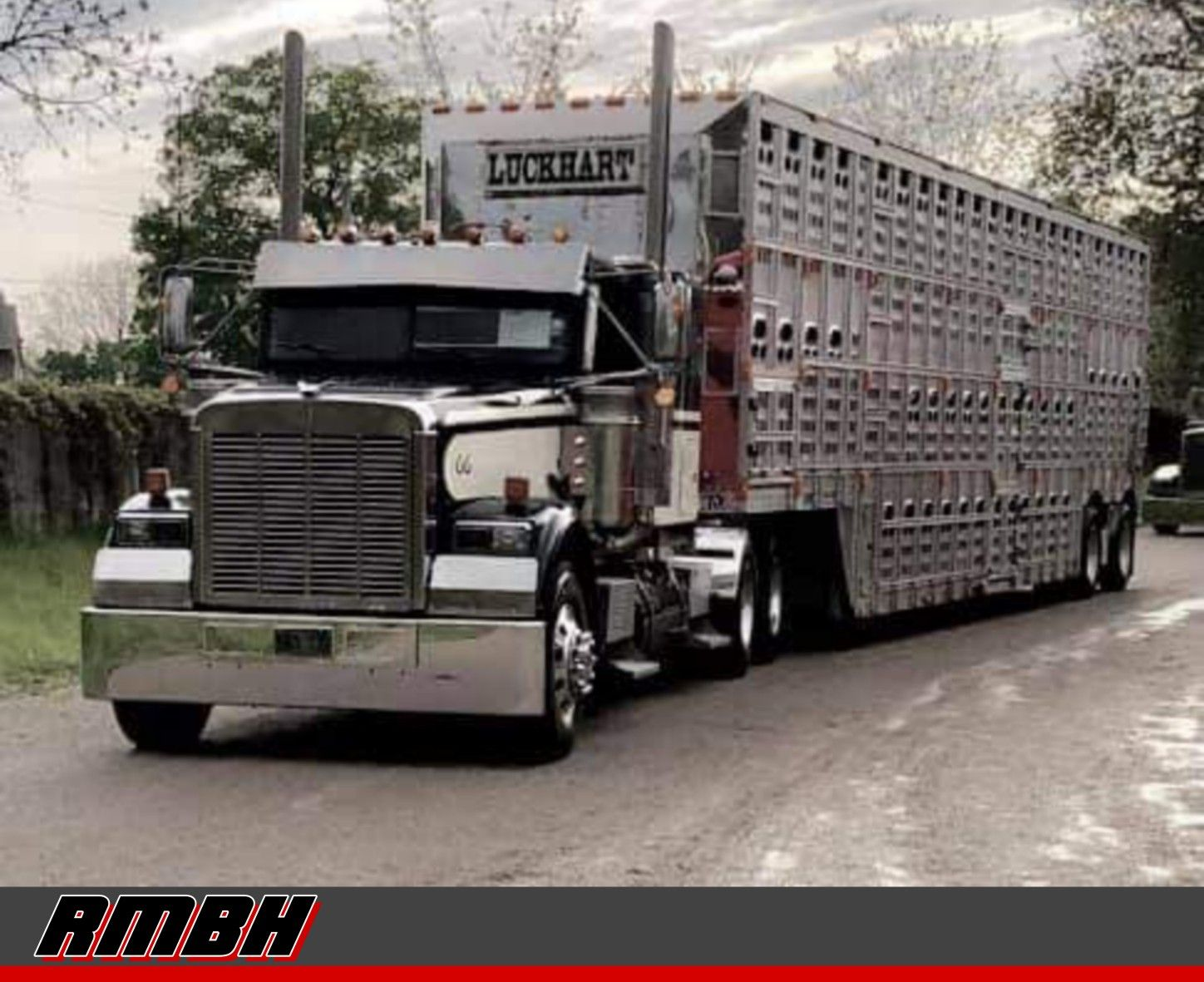 Pin by John C on Working Semi trucks (with trailers