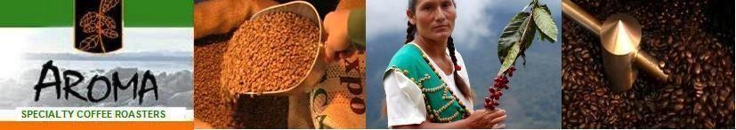 Aroma Coffees Specialty coffee roasters Fair trade Coffee Quadra Island