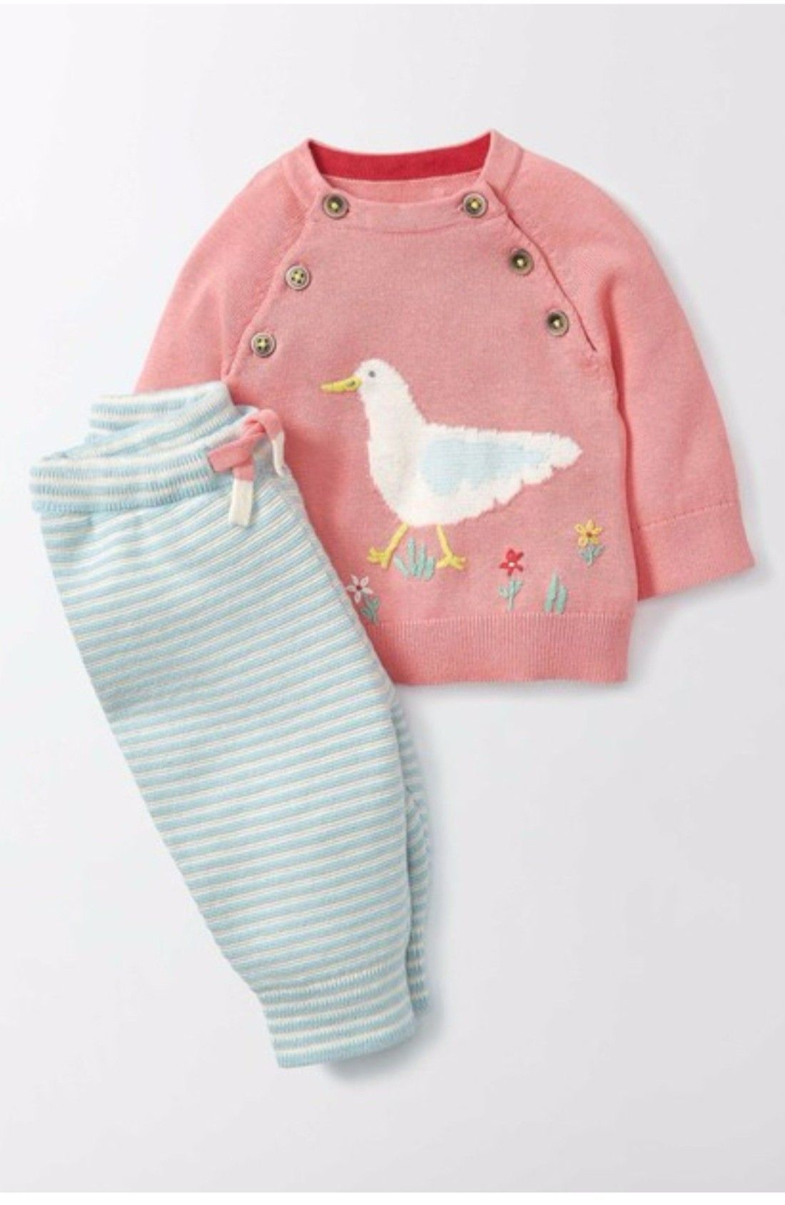 97e41d6cb Free shipping and returns on Mini Boden Sandpiper Knit Sweater ...
