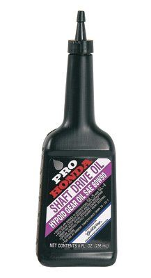 Pro Honda Shaft Drive Oil 80W-90 8 oz  08208-0005  Single