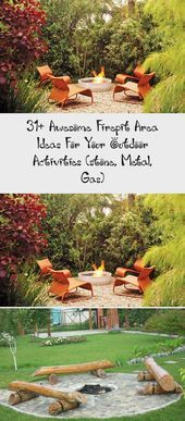 Photo of #Activities #Area #awesome #Firepit #garden #gas