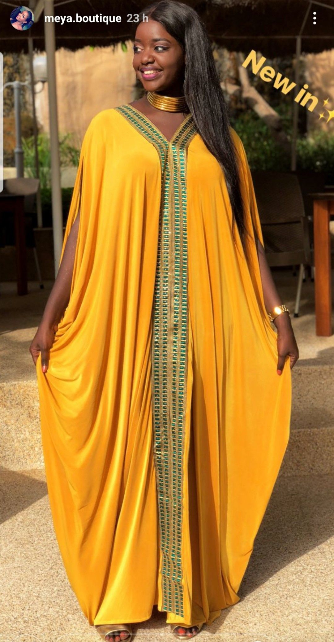 Bazin-pagne | Mode africaine robe longue