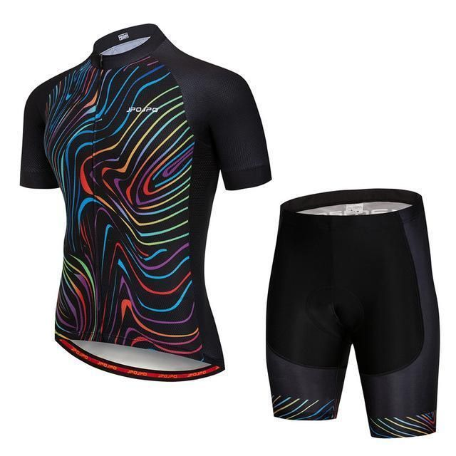 24ea6cd3b Jpojpo Pro Team Cycling Jersey Set Men Mountain Cycling Clothing Breathable Mtb  Bicycle Wear