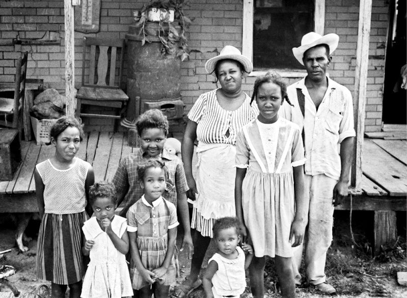 Drum And Fife Master Othar Turner And Family