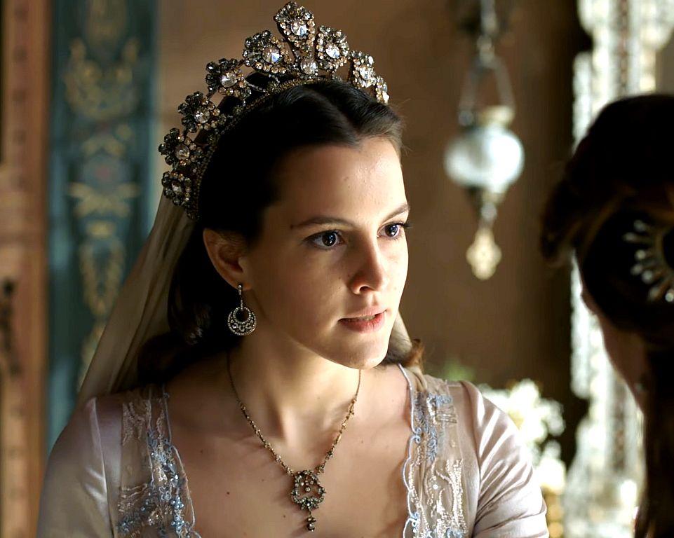 Muhtesem Yuzyil Kosem Ayse Sultan Costume Crown Fantasy Jewelry Wedding Crown Fashion X