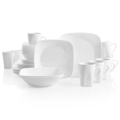 Corelle Boutique 42 Piece Cherish Dinnerware Set In 2020
