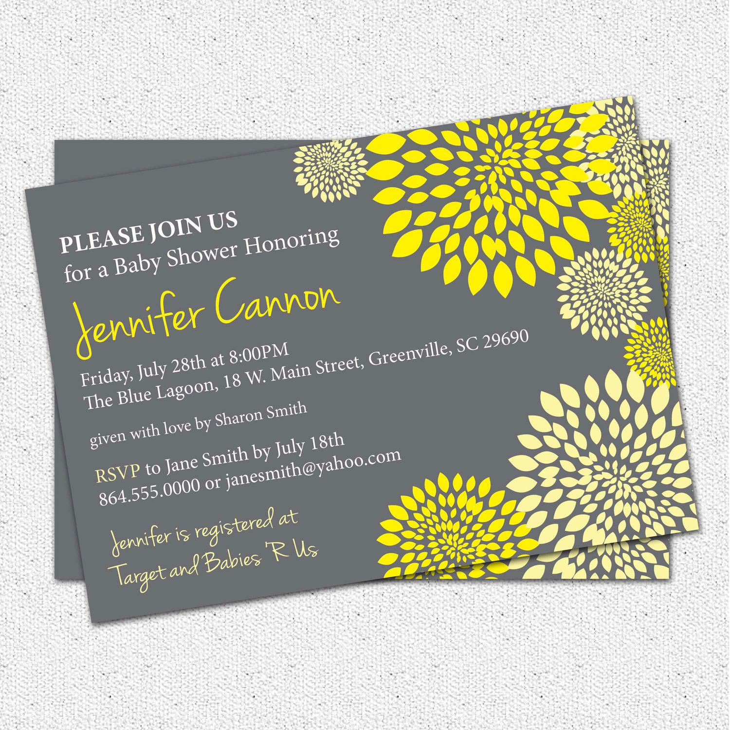 Baby Shower Invitations,Winsome Modern Baby Shower Invitations ...