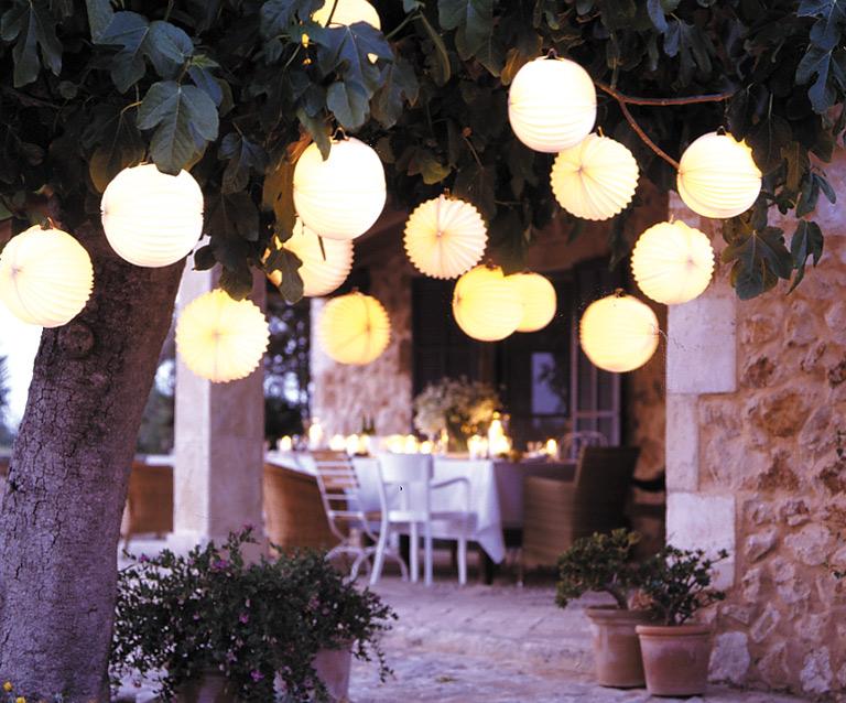 Beleuchtung Balkon außenleuchten licht für garten terrasse und balkon
