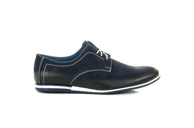 Polbuty Meskie Lucca Niebieskie Wiazane Polbuty Lucca Dress Shoes Men Dress Shoes Oxford Shoes