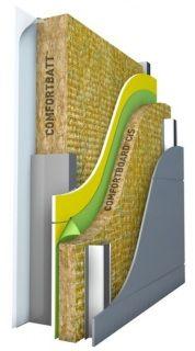 Rockwool Comfortboard Is 80 Exterior Wall Insulation Diy Insulation House Wall Insulation