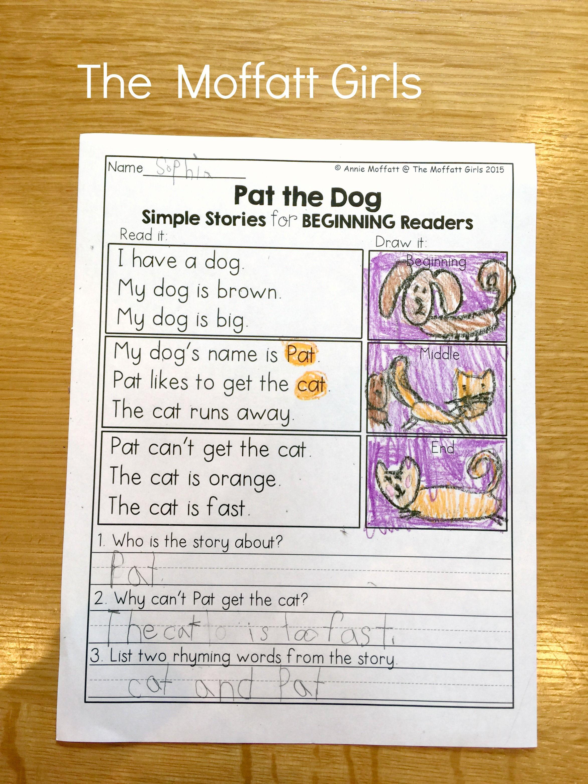 May No Prep Packet Kindergarten Reading Classroom Beginner Reader Reading Fun [ 3128 x 2346 Pixel ]