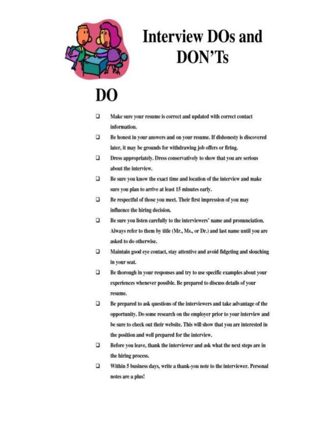 job interview questions worksheet