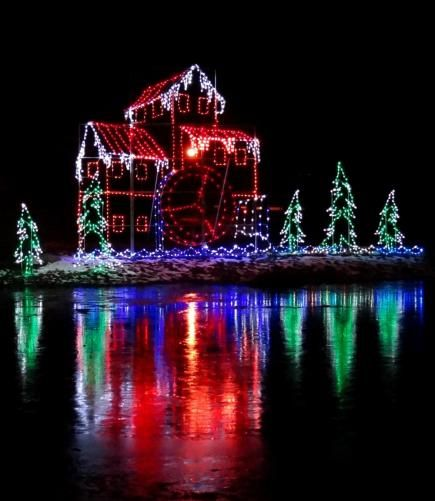 Great places to see holiday lights in Indiana, including Christmas City  Walkway of Lights, - 30 Great Places To See Holiday Lights Indiana Travel Holiday
