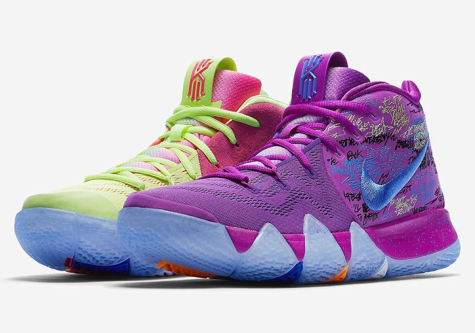 timeless design 6d390 d415b Nike Kyrie 4 Multi-color AJ1691-900   SneakerNews.com
