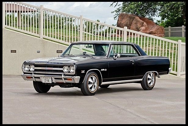 S128 1965 Chevrolet Chevelle Z16 1 Of 3 Known Factory Black Black