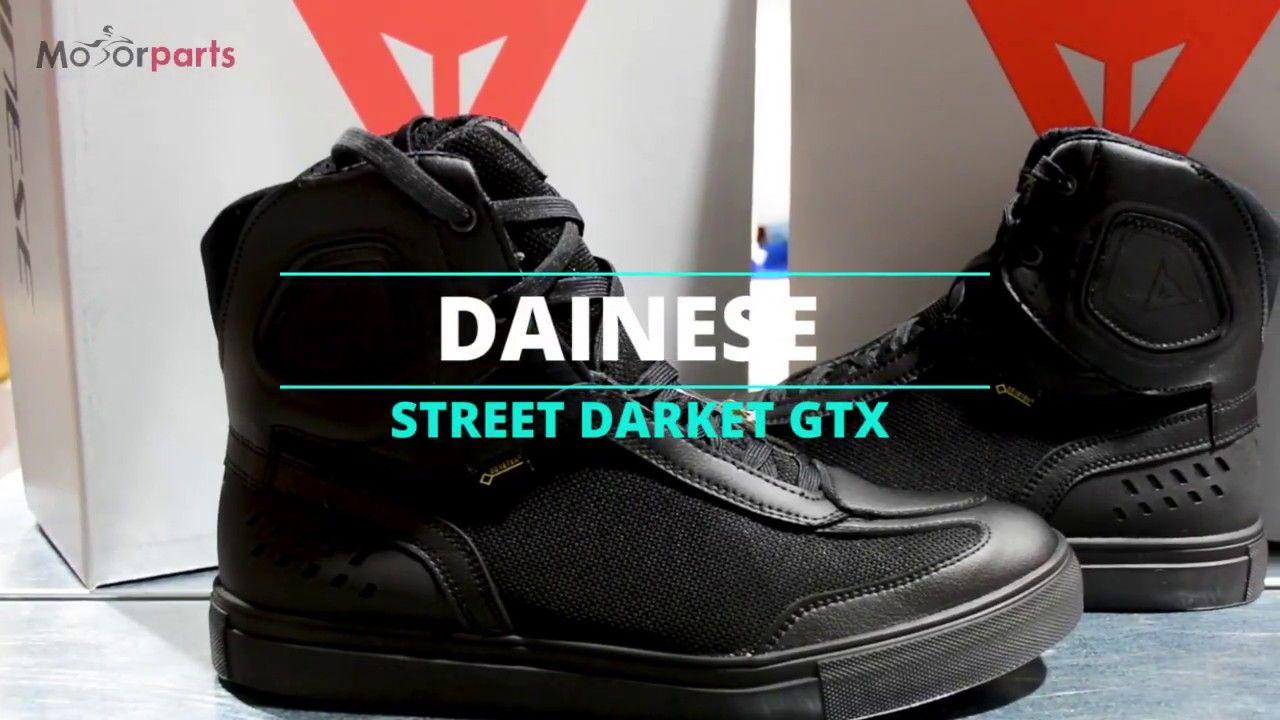 3918eeced4f Μποτάκια #Dainese Street Darker Gore-Tex Black | Helmet Videos 360 ...