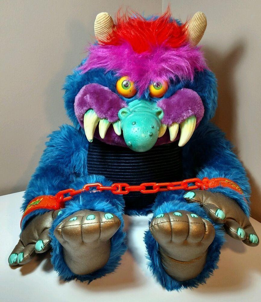 My pet monster original 1986 amtoy american greetings handcuffs work my pet monster original 1986 amtoy american greetings handcuffs work long nose in toys hobbies kristyandbryce Choice Image