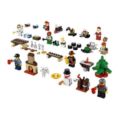 2013 City Advent Calendar Models 600024 Lego City Advent Calendar Lego Advent Calendar Lego Advent