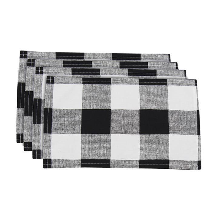 You Should Join Joss And Main I Did Shabby Chic Fall Black And White Decor Placemats