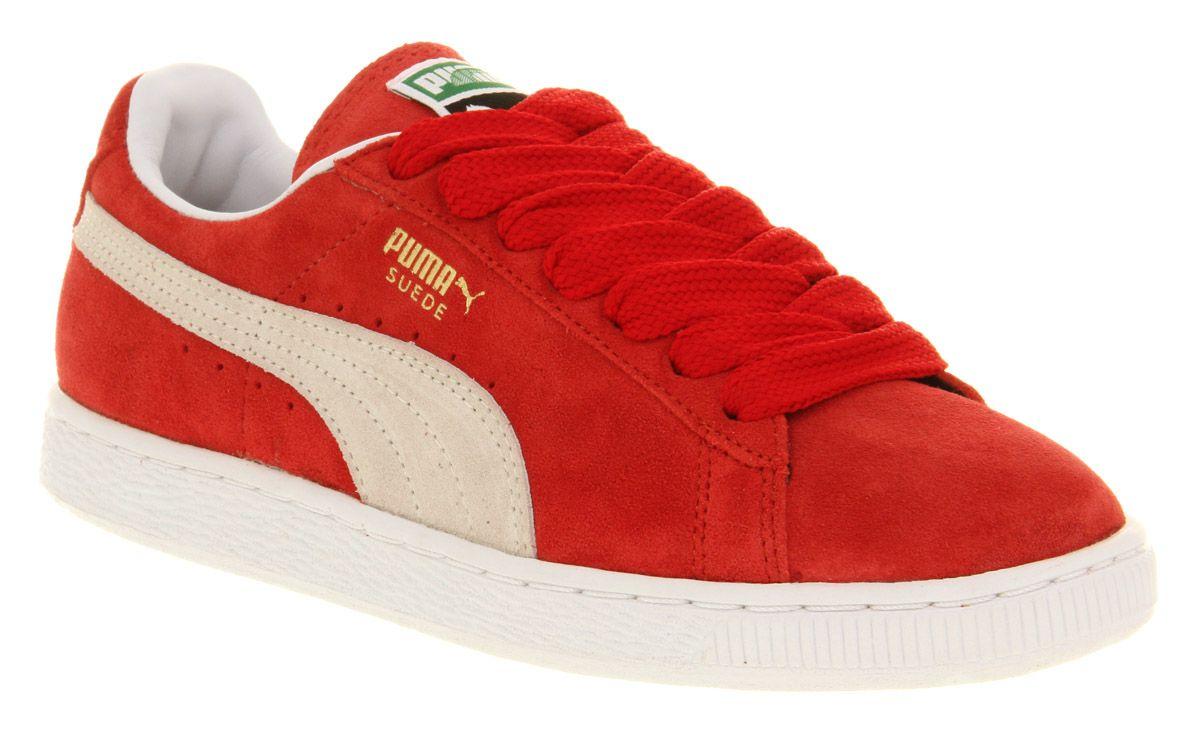 f92c59b7076 Puma red SUEDE CLASSIC - style no  2812560026