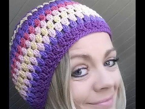 Häkeln Mütze Daniela Büschelmaschen Youtube Crochet Art