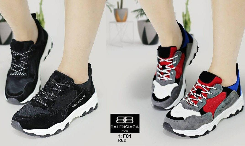 Sepatu Merek Balenciaga Seri F01 Kualitas Semprem Bahan Kulit