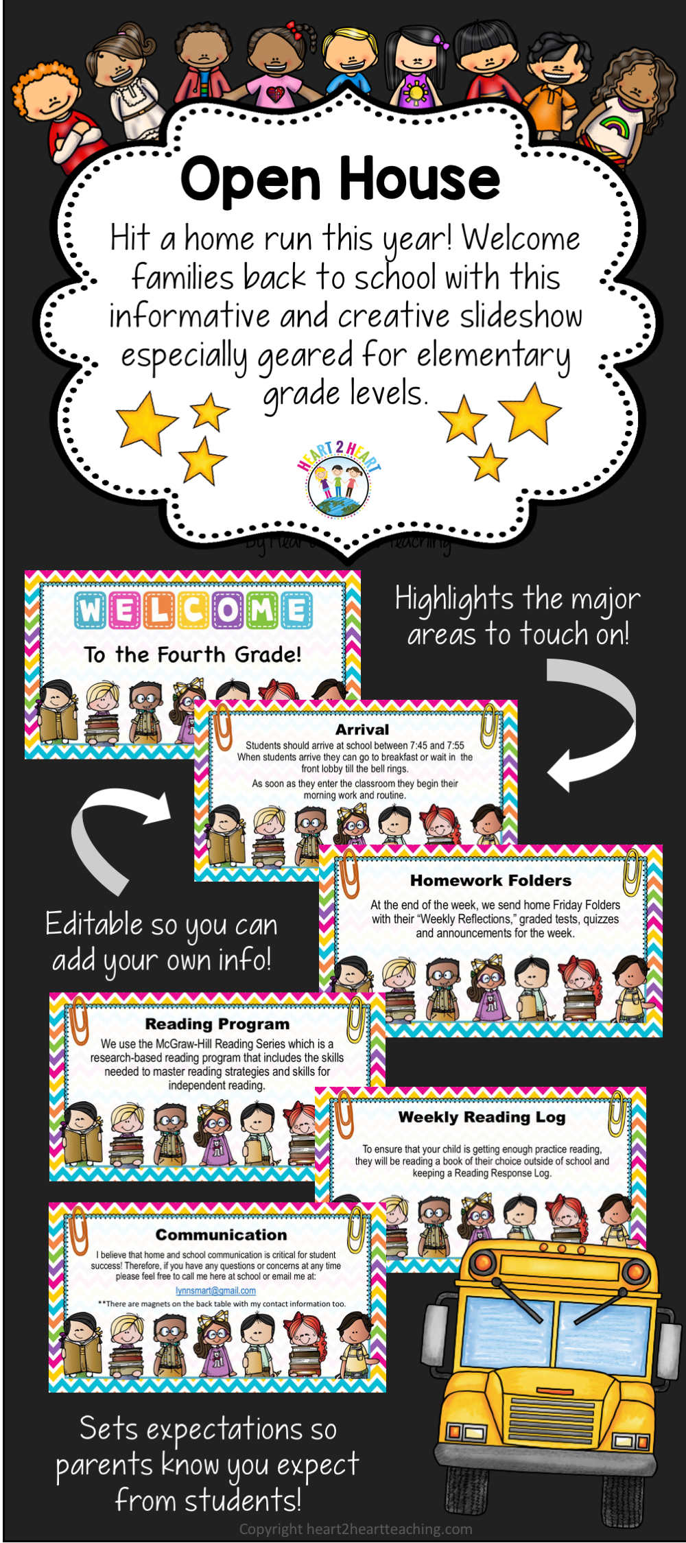 Why Parents Need To Teach Middle >> Open House Powerpoint Meet The Teacher Study Buddies Design