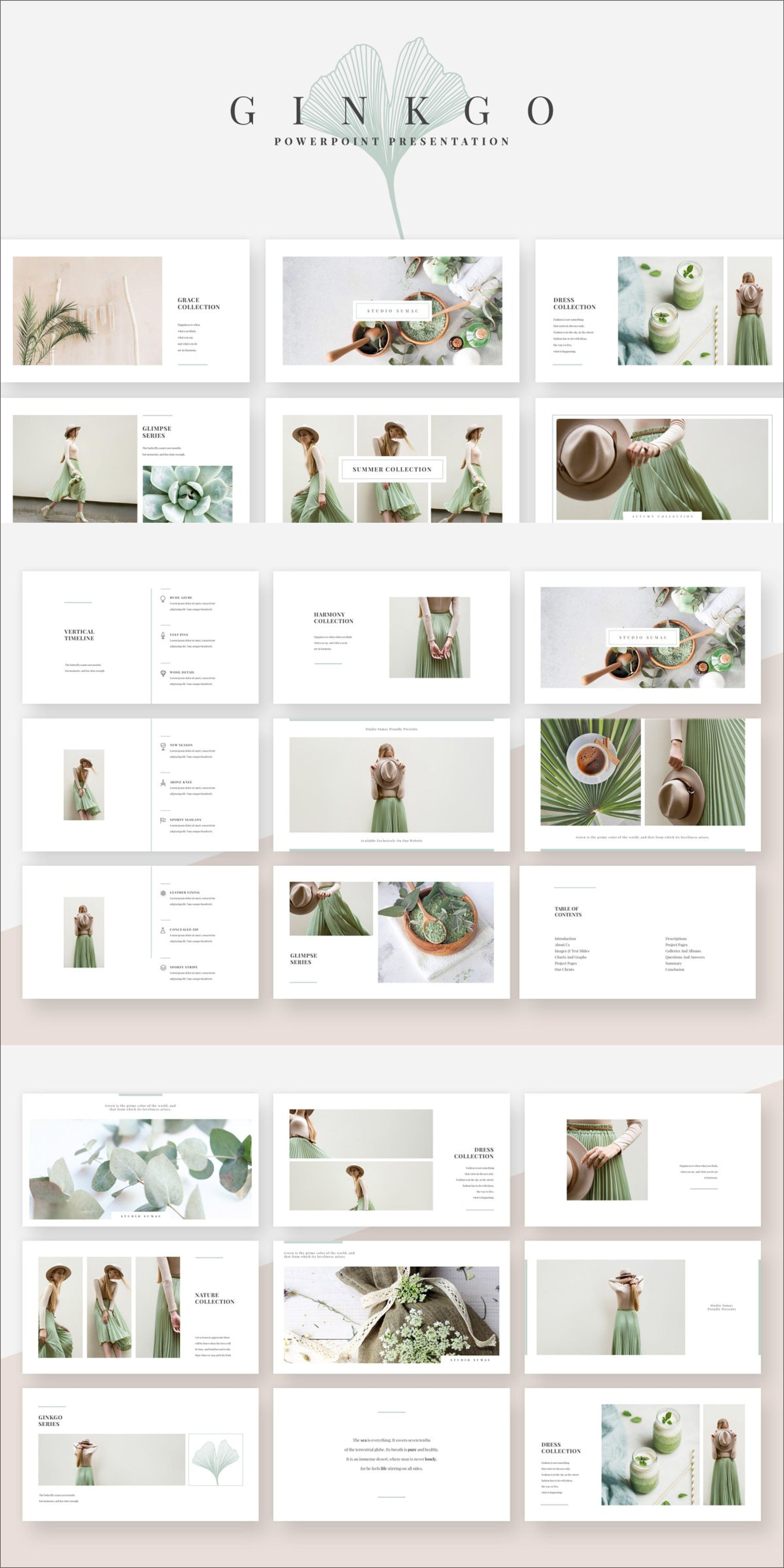 Minimal and Versatile Presentation Template