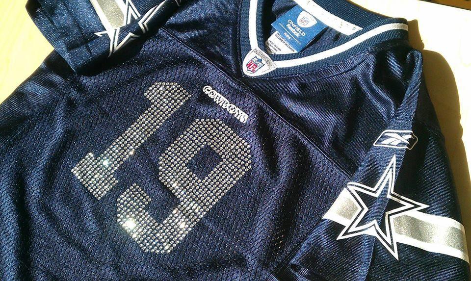 best service b698a 0da33 Dallas Cowboys BLING Jersey | Cowboys Nation Chic | Dallas ...