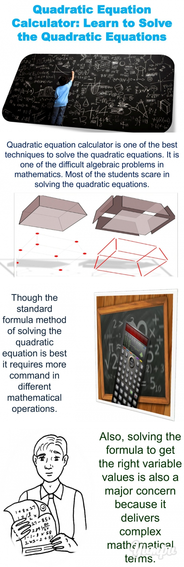 Quadratic Equation Calculator - Learn to Solve the Quadratic ...