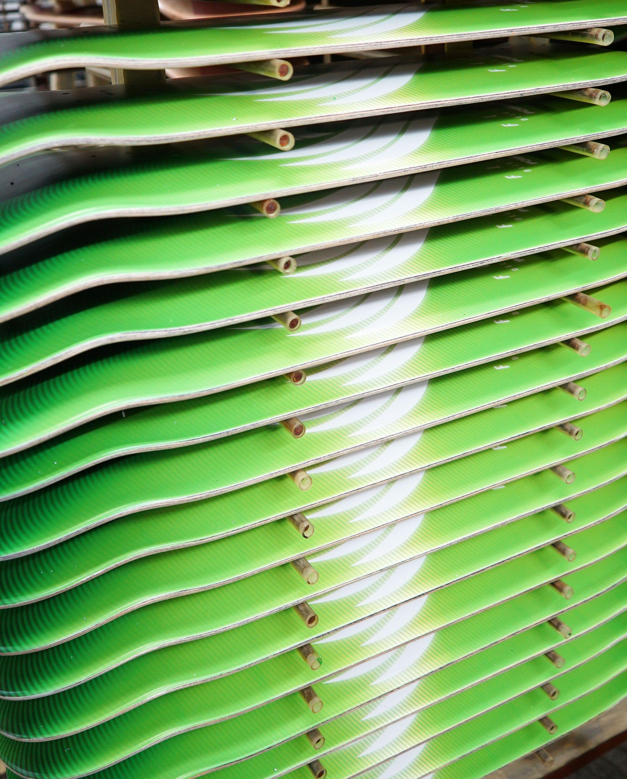 f0abeefb1f4f Powell Peralta Flight® Skateboard Deck Glow Lime - Shape 245 - 8.75 x 32.95