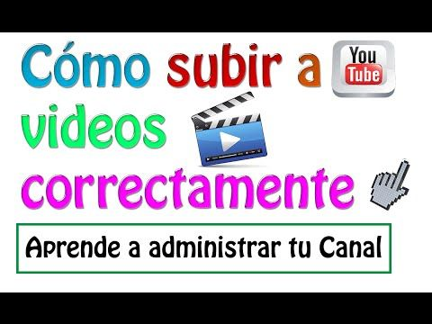 Como subir un video a youtube correctamente [Principiantes] - YouTube
