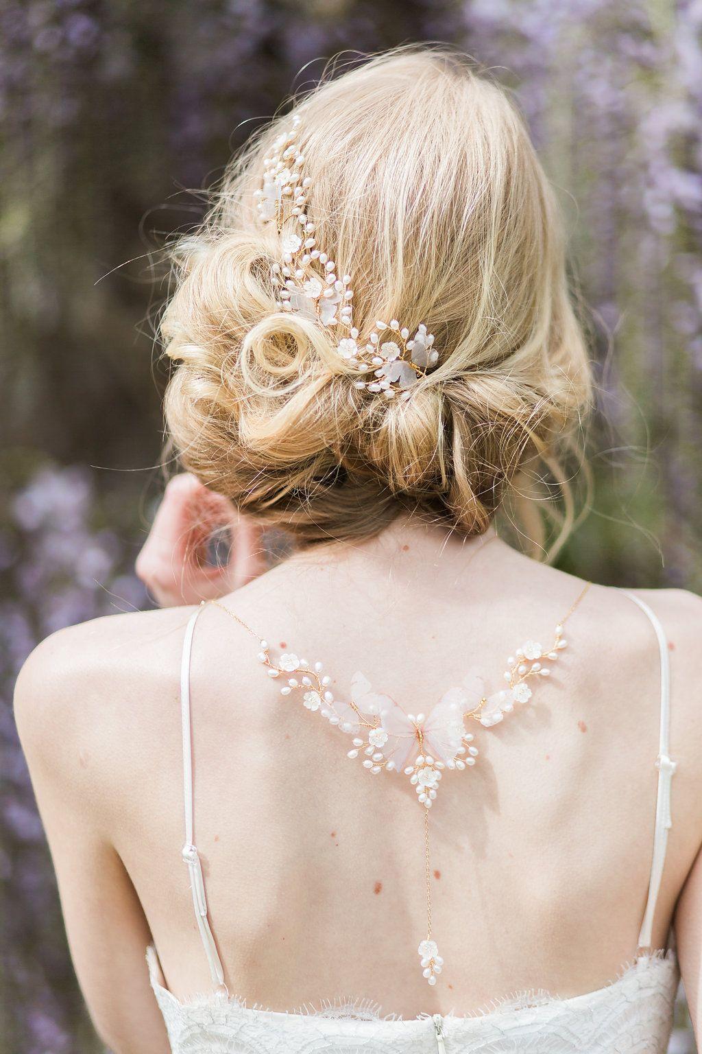 Hermione harbutt papillon back necklace amy fanton photography