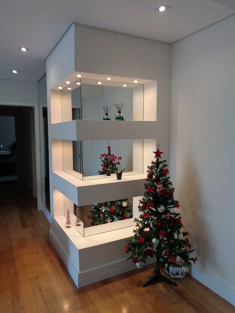 Nichos Em Drywall | Projetta Arquitetura U0026 Obras Execução De Nichos Em  Gesso Acartonado, Espelhados