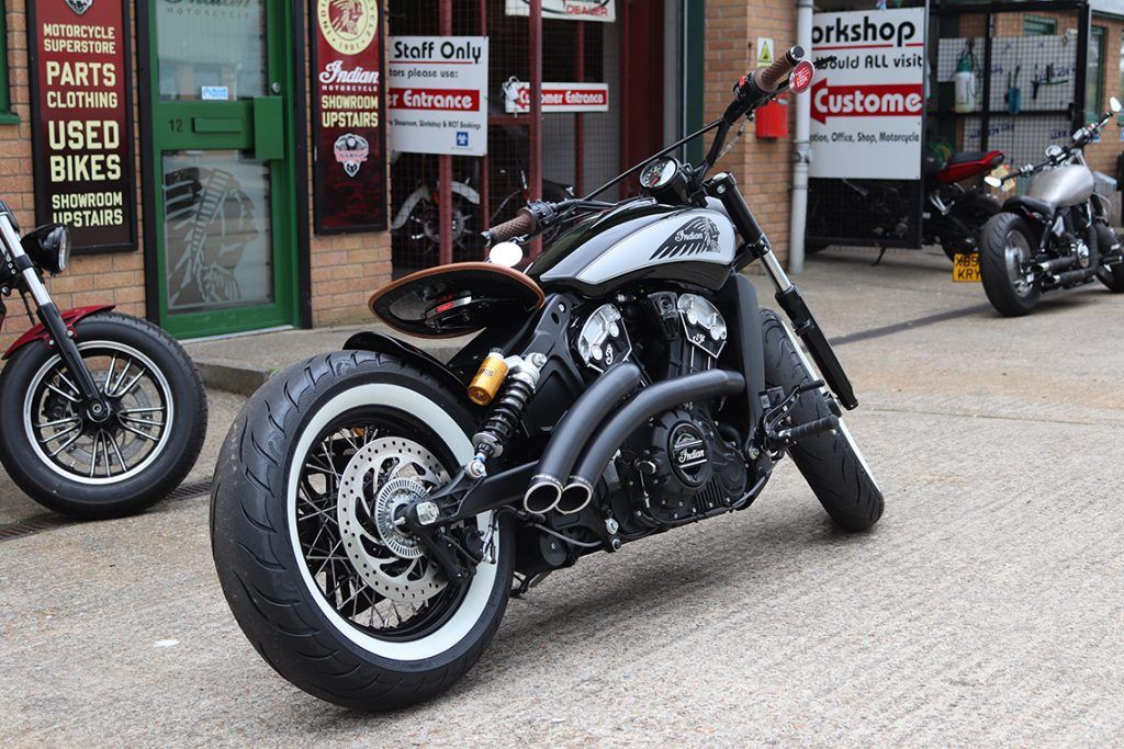 Custom Indian Scout Build Bournemouth Motorcycles (2020